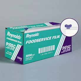 "Reynolds® 12"" Foodservice Film Roll with Easy Glide Slide Cutter Box"