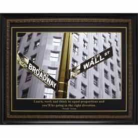 """Crystal Art Gallery - Trump Direction - 32-3/4""""W x 26-3/4""""H, Straight Fit Framed"""