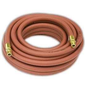 Reelcraft S601013-25 3/8 x 25, 300 psi, 45 lbs Low Pressure Air/Water Hose Assembly