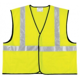 Class II Economy Safety Vests, RIVER CITY VCL2SLX4, Size 4XL by