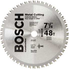 "BOSCH Scroll Cutting Stationary Band Saw Blade, 72-7/16""Dia by"