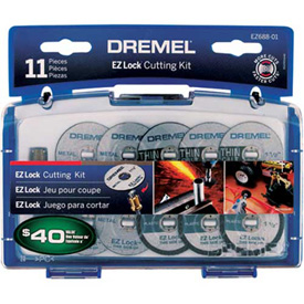 Dremel EZ688-01 EZ Lock Cutting Kit for Dremel Rotary Tools Package Count 4 by