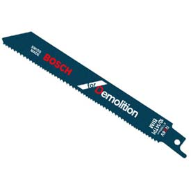 "BOSCH 9"" All Purpose Demolition Reciprocating Saw Blade, RD9V-25B, 10/14 TPI, 25-Piece Package Count 25 by"