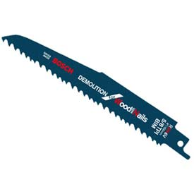 "Click here to buy BOSCH 12"" Wood/Demolition Reciprocating Saw Blade, RDN12V-25P, 5/8 TPI, 25-Piece."