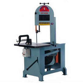 All-Purpose Vertical Band Saw 1 HP 110V Single Phase 60 Cycle Roll-In Saw EF1459 by