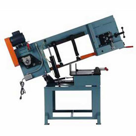 Horizontal Miter Band Saw 1 HP 110V Single Phase Roll-In Saw HM1212 by