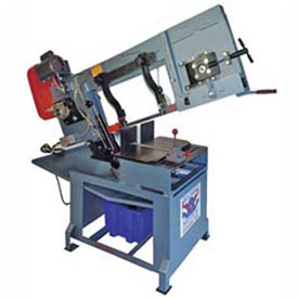 Horizontal Wet Miter Band Saw 1 HP 110V Single Phase Roll-In Saw HW1212 by