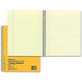 """Rediform 1-Subject Notebook, 8-7/8"""" x 11"""", College Ruled, Green, 80 Sheets/Pad by"""