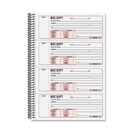 "Rediform Money Receipt Book, 2-Part, Carbonless, 2-3/4"" x 7"", 300 Sets/Book by"