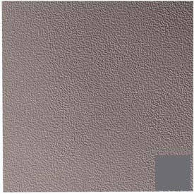"Rubber Tile Hammered Pattern 50cm x 1/8"" Thick - Charcoal"