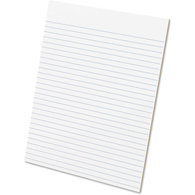 """Ampad Glue Top Rule Pads 21112, 8-1/2"""" x 11"""", White, 50 Sheets/Pad, 12/Pack by"""