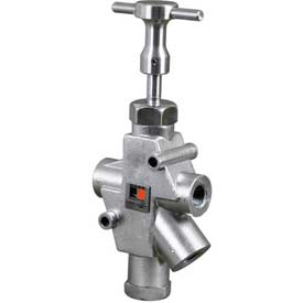 "ROSS Stainless Steel Manual Pneumatic Lockout Valve 1523A8004, 1-1/2"" NPT by"