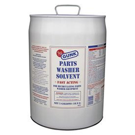 GUNK Parts Washer Solvent, 5 Gallon Pail SCS5 by