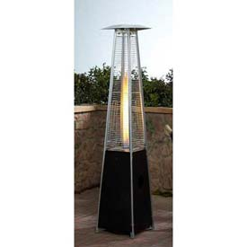 Hiland Patio Heater HLDS01 GTHG Propane 40000 BTU Quartz Glass Tube Bronze