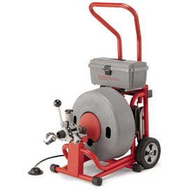 "Buy RIDGID K-6200 W/Inner Core Cables, 285RPM, 4/10HP, 5.6AMPS, AC, 100'L x 5/8""W Cable"