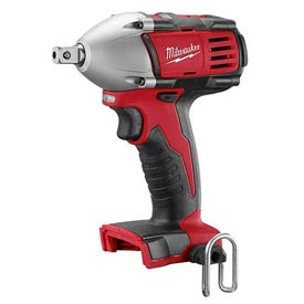 "Milwaukee 265-20 M18 Cordless 1/2"" Impact Wrench W/ Pin Detent (Bare Tool Only) by"