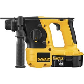 "DeWALT DC212KA 18V 7/8"" (22mm) Cordless SDS Hammer Kit"