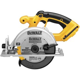 "DeWALT® DC390B 6-1/2"" (165mm) 18V Cordless Circular Saw (Tool Only)"
