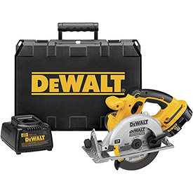 "DeWALT DC390K 6-1/2"" (165mm) 18V Cordless XRP Circular Saw Kit by"