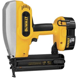 "DeWALT DC608K 18 Gauge 2"" Cordless Brad Nailer Kit by"