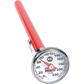 Buy Pelouze&#174 FGTHP220C Pocket Thermometer, Stainless Steel, Easy To Recalibrate, 0 To 220°F