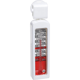 Buy Pelouze FGTHR80P Thermometer, Refrigerator / Freezer, Stainless Steel, -20 To 120°F Package Count 12