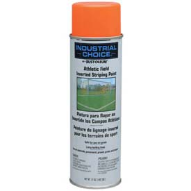 Rust-Oleum Af1600 System Athletic Field Inverted Striping Paint Aerosol, Fluor. Orange - Pkg Qty 12