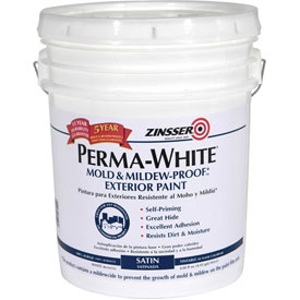 Paint accessories liquid coatings zinsser perma white mold mildew proof exterior - Zinsser exterior paint pict ...