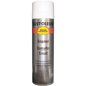 Rust-Oleum High Performance V2100 Rust Preventive Enamel Aerosol, Gloss White, 15 oz. - V2192838 - Pkg Qty 6