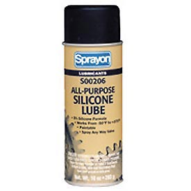 Sprayon LU206 All-Purpose Silicone Lubricant, 10 oz. Aerosol Can - s00206000 - Pkg Qty 12