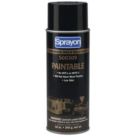 Sprayon MR309 Paintable Release Agent, 12 oz. Aerosol Can - s00309000 - Pkg Qty 12