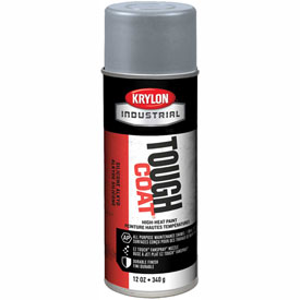 Krylon Industrial Tough Coat High-Heat Paint Aluminum - A00324007 - Pkg Qty 12