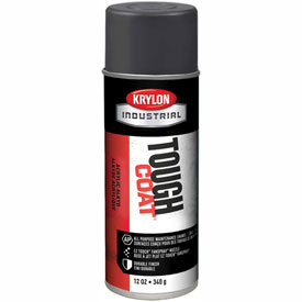 Krylon Industrial Tough Coat Acrylic Enamel Machinery Dk Gray (Asa-49) - S00325 - Pkg Qty 12