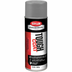 Krylon Industrial Tough Coat Acrylic Enamel Machinery Lt Gray (Asa-61) - A00326007 - Pkg Qty 12