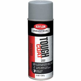 Krylon Industrial Tough Coat Gray Rust Control Primer - A00340007 - Pkg Qty 12
