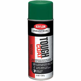 Krylon Industrial Tough Coat Green Rust Inhibitive Primer - S00344 - Pkg Qty 12