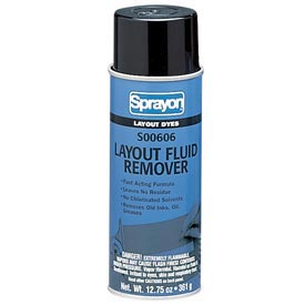 Sprayon SP606 Layout Dye Remover, 12.75 oz. Aerosol Can - s00606000 - Pkg Qty 12