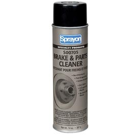Sprayon SP705 Non-Chlorinated Brake & Parts Cleaner, 14 oz. Aerosol Can - s00705000 - Pkg Qty 12