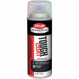 Krylon Industrial Tough Coat Acrylic Enamel Tint Base Gloss Topcoat (Ttl-50) - A01000007 - Pkg Qty 12