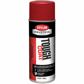Krylon Industrial Tough Coat Acrylic Enamel Bright Red - S01005 - Pkg Qty 12