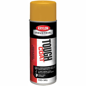Krylon Industrial Tough Coat Acrylic Enamel Federal Highway Yellow - A01009007 - Pkg Qty 12