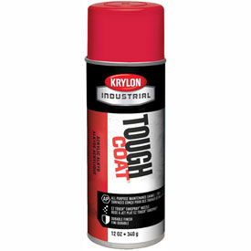 Krylon Industrial Tough Coat Acrylic Enamel Cherry Red - S01101 - Pkg Qty 12