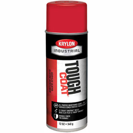 Krylon Industrial Tough Coat Acrylic Enamel Osha Red - A01110007 - Pkg Qty 12