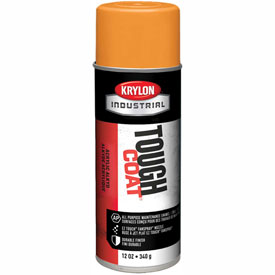 Krylon Industrial Tough Coat Acrylic Enamel Osha Orange (#60 Equip. Orange) - A01210007 - Pkg Qty 12
