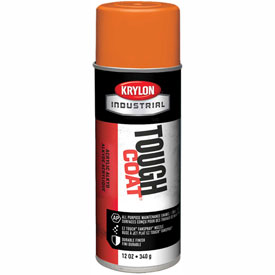 Krylon Industrial Tough Coat Acrylic Enamel Joy Orange - A01213007 - Pkg Qty 12