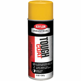 Krylon Industrial Tough Coat Acrylic Enamel Osha Yellow - S01310 - Pkg Qty 12