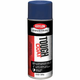 Krylon Industrial Tough Coat Acrylic Enamel Dark Blue - A01515007 - Pkg Qty 12