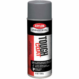 Krylon Industrial Tough Coat Acrylic Enamel Medium Gray - A01615007 - Pkg Qty 12