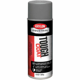 Krylon Industrial Tough Coat Acrylic Enamel Light Gray - S01645 - Pkg Qty 12