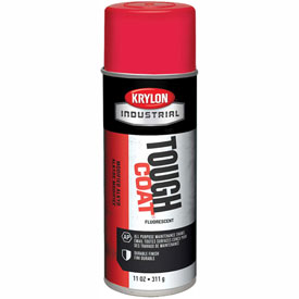 Krylon Industrial Tough Coat Fluorescent Red - S01812 - Pkg Qty 12